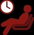 Abwarten und Arbeitsplatz freihalten